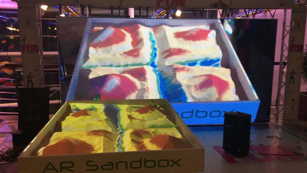 ARSandbox Dos Mares
